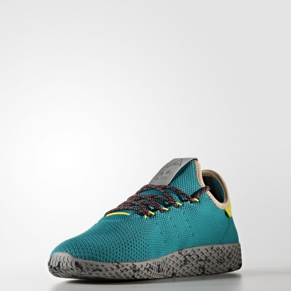 adidas Originals Pharrell Williams Tennis Hu (CQ1872) - turquoise/Violet / Night Marine / Core Noir -Unisex