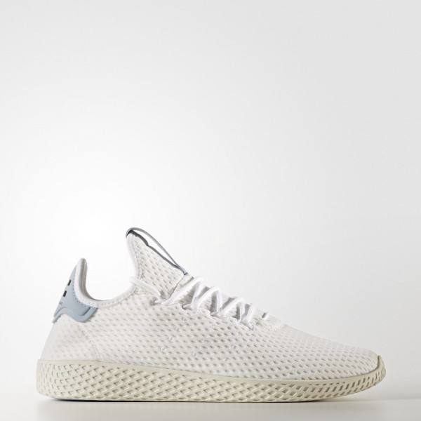 adidas Originals Pharrell Williams Tennis Hu (BY8718) - Footwear blanc/Footwear blanc/Tactile Bleu -Unisex