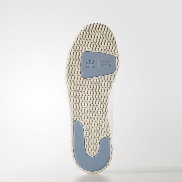 adidas Originals Pharrell Williams Tennis Hu (BY8718) - Footwear blanc/Footwear blanc/Tactile Bleu -Unisex