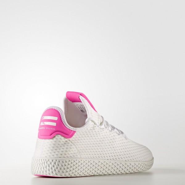 adidas Originals Pharrell Williams Tennis Hu (BY8714) - Footwear blanc/Footwear blanc/Semi Solar Rose -Unisex