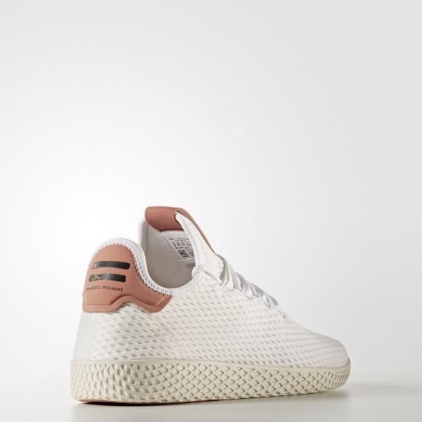 adidas Originals Pharrell Williams Tennis Hu (CP9763) - Footwear blanc/Footwear blanc/Raw Rose -Unisex