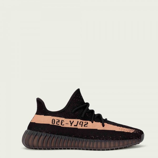 adidas Yeezy Boost 350 V2 BY1605 Noir Copper Metallic Noir