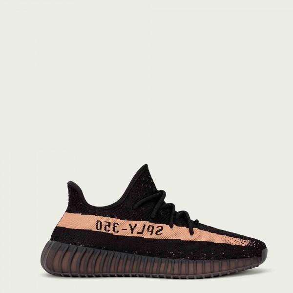 adidas Yeezy Boost 350 V2 BY1605 Noir Copper Metal...