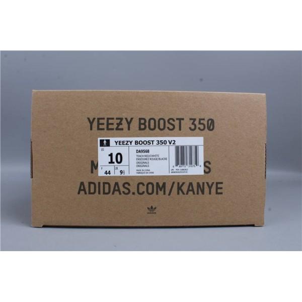 adidas Yeezy Boost 350 V2 Zebra DA9568 DA9568 Wine rouge