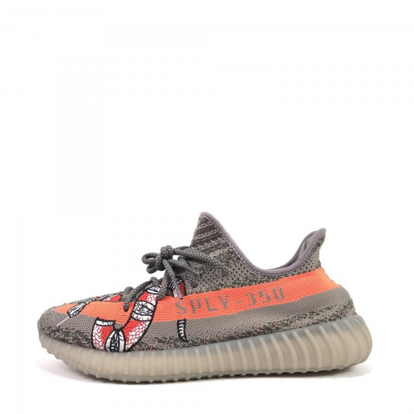 Adidas Yeezy Boost 350 V2 350v2O gris/Orange