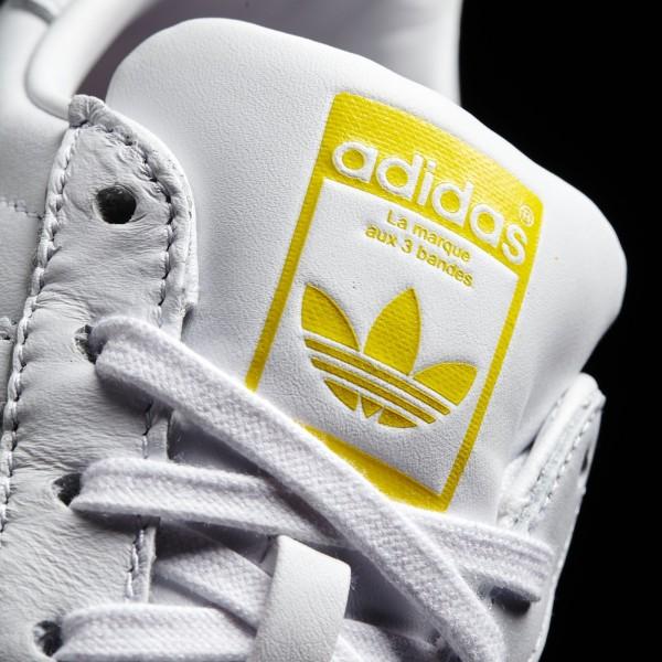 adidas Homme Originals Zaha Hadid Supershell Superstar (S83350) - blanc/blanc/Jaune