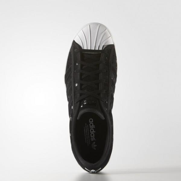adidas Femme Originals Superstar Rize (S77406) - Core Noir/Core Noir/blanc