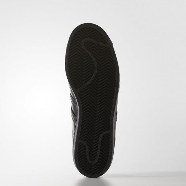adidas Homme Originals Todd James Supershell Superstar (S83347) - Core Noir/Core Noir/Jaune