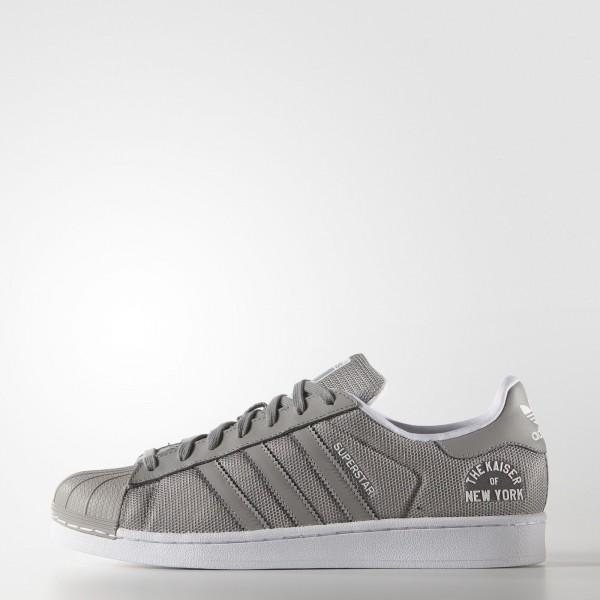 adidas Homme Originals Superstar Beckenbauer (S77767) - Mgh Solid gris / Mgh Solid gris / Ftwr blanc