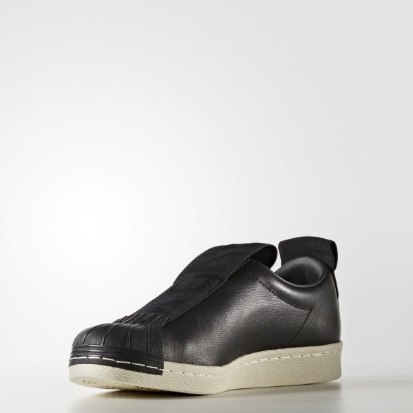 adidas Femme Originals Superstar BW Slip-on (BY9140) - Core Noir/Core Noir/Off blanc