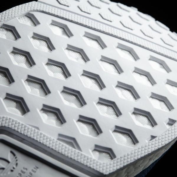 adidas Originals NMD_R1 (S31502) - Tech Steel/Unity Bleu/ blanc -Unisex