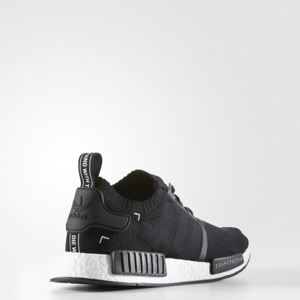 adidas Originals NMD_R1 Primeknit (S81847) - Core Noir/Core Noir/ blanc -Unisex