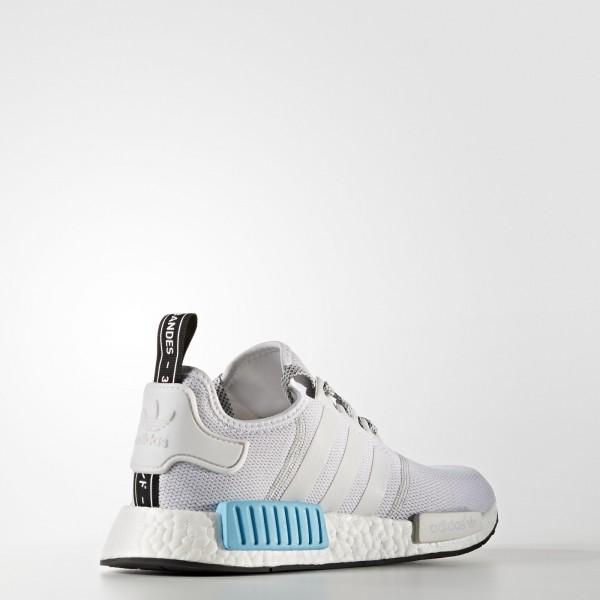 adidas Originals NMD_R1 (S31511) - blanc/ blanc/Bright Cyan -Unisex