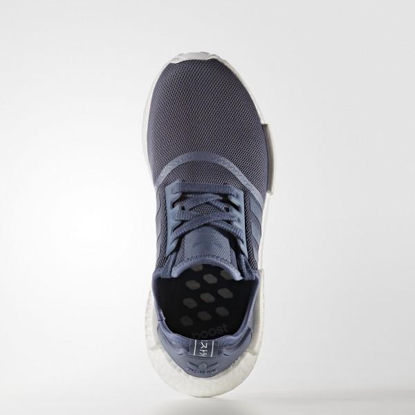 adidas Femme Originals NMD_R1 (S76005) - Tech Ink/Tech Ink/ blanc
