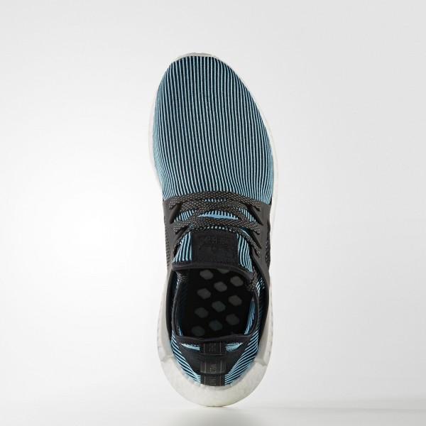adidas Originals NMD_XR1 Primeknit (S32212) - Bright Cyan/Bright Cyan/Vintage blanc -Unisex