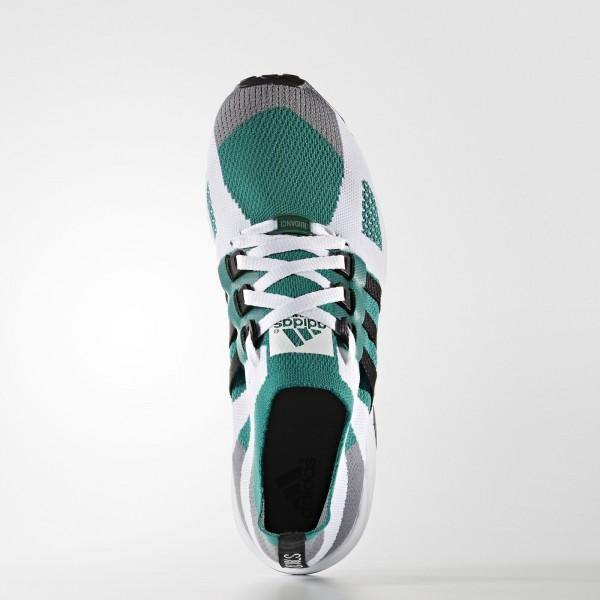 adidas Homme Originals EQT Running Guidance Primeknit (S79127) - gris/Core Noir/Sub vert -Unisex