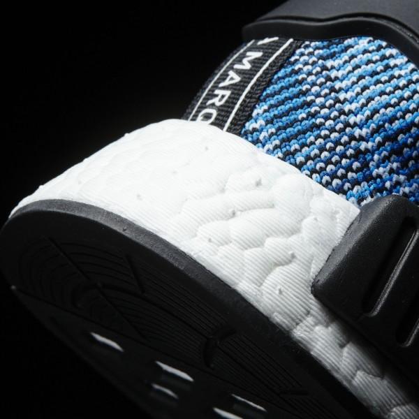 adidas Homme Originals NMD_R1 Primeknit (BA8598) - Collegiate Navy/Clear Sky/blanc