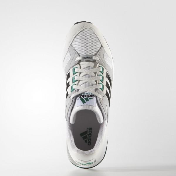 adidas Originals EQT Running Cushion 93 (S79125) - Vintage blanc/Core Noir/Sub vert -Unisex