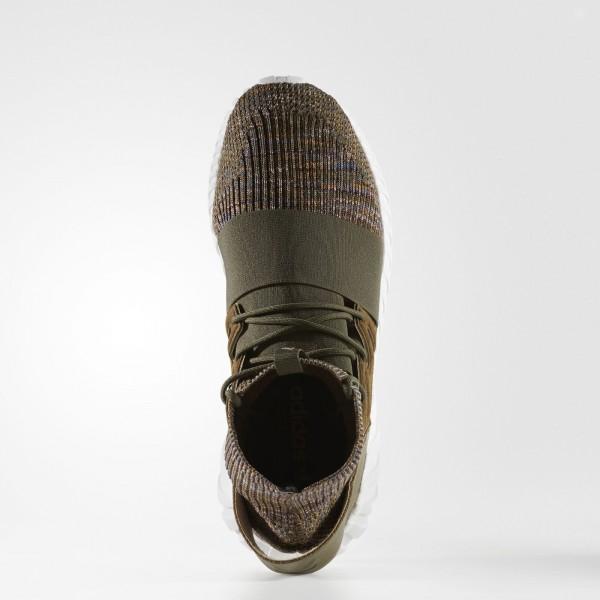 adidas Homme Originals Tubular Doom Primeknit (BY3551) - Trace Olive /Mystery marron /Crystal blanc