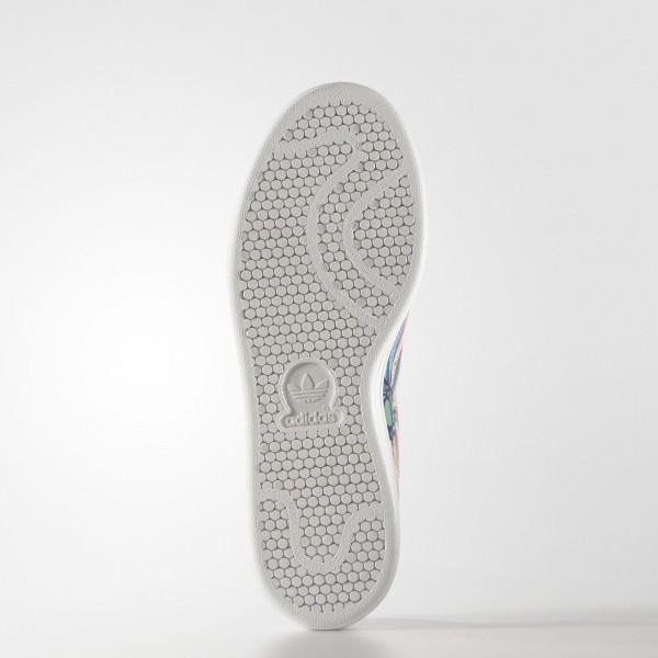 adidas Femme Originals Stan Smith (S32036) - blanc/Lab Bleu