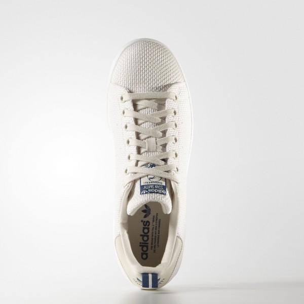 adidas Originals Stan Smith (S75024) - Chalk blanc/Shadow Bleu -Unisex
