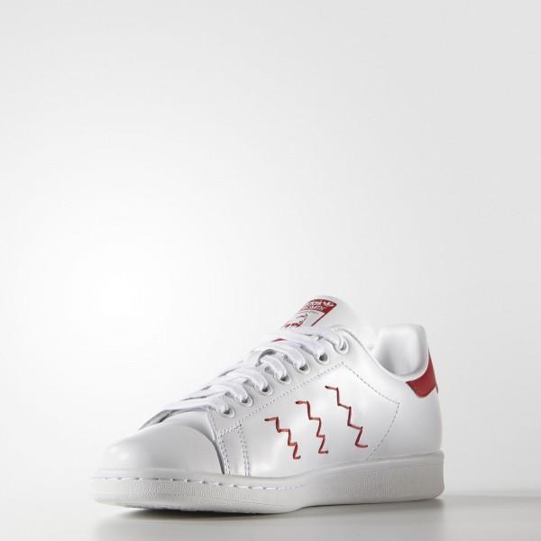 adidas Femme Originals Stan Smith (S75138) - blanc/Collegiate rouge