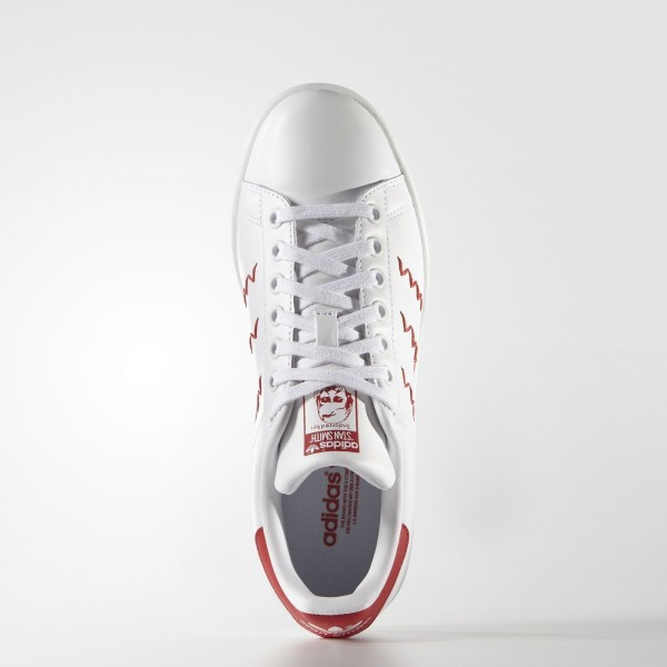 adidas Femme Originals Stan Smith (S75138) - blanc/Collegiate rouge