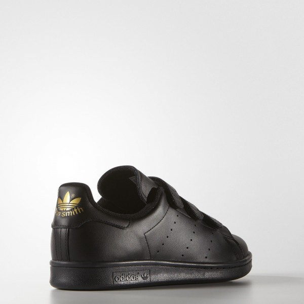 adidas Homme Originals Stan Smith (S75189) - Core Noir/or Metallic
