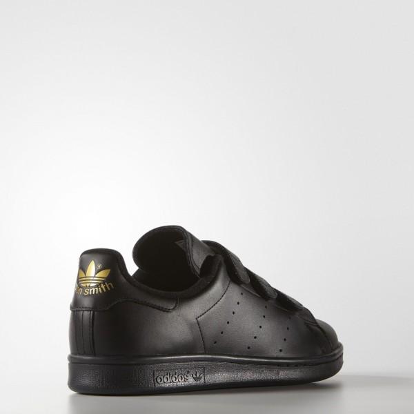 adidas Homme Originals Stan Smith (S75189) - Core Noir/or Metallic